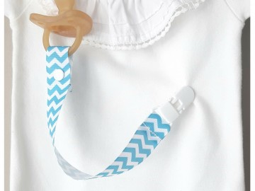 Pacifier Holder | SKY BLUE + Choose the Clip