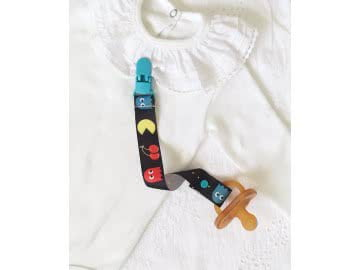 Pacifier Holder | PAC-MAN + Choose the Clip LIMITED EDITION