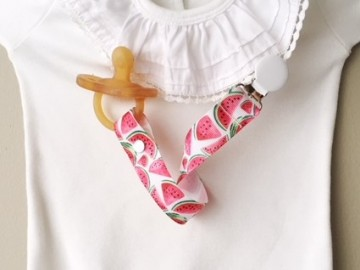 Pacifier Holder |  WATERMELON  + Choose the Clip LIMITED EDITION