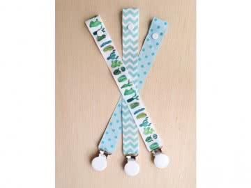 Value Pack - 3 Pacifier Holder | CACTUS (With Metal Clip)